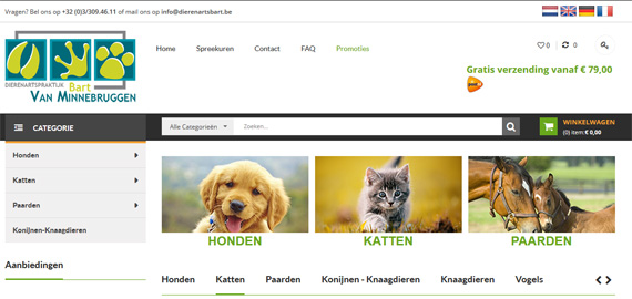 Dierenarts Bart Van Minnebruggen - Zoersel - www.dierenartsbart.be