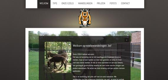 Ezelswandelingen - Wandelen met ezels door Zoersel, weilanden, natuurgebieden, ... - www.ezelswandelingen.be