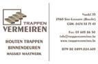 Trappen Vermeiren - Houten trappen en ambachtelijk massief maatwerk - www.trappenvermeiren.be