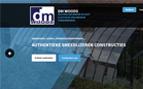 ieter De Meester - Smeedijzeren constructies (orangerie, serre, terrasoverkapping, binnendeuren, luifel ...), elastische voegwerken, ... - www.pieterdemeester.be